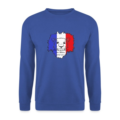 Lion supporter France - Sweat-shirt Homme