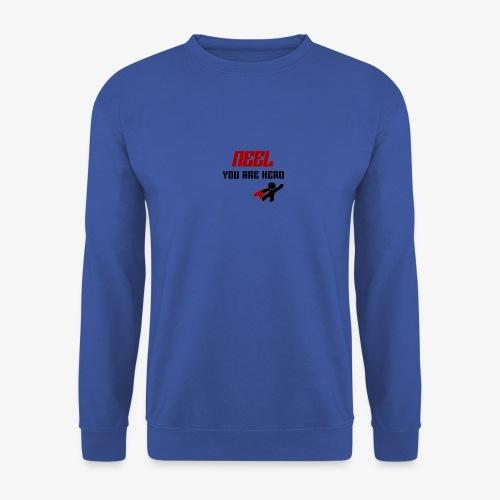 NEEL You Are Hero - Bluza unisex