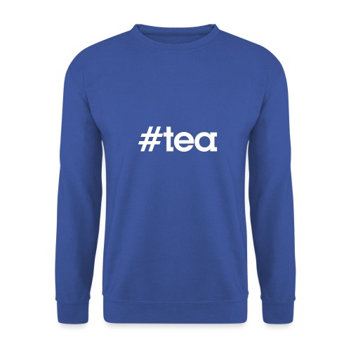 Hashtag Tea - blanc - Sweat-shirt Unisex