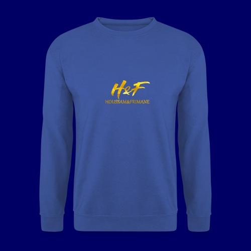 h f gold2 - Felpa unisex