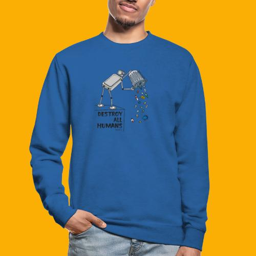Dat Robot: Destruction By Pollution light - Unisex sweater