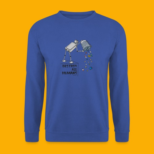 Dat Robot: Destruction By Pollution light - Mannen sweater