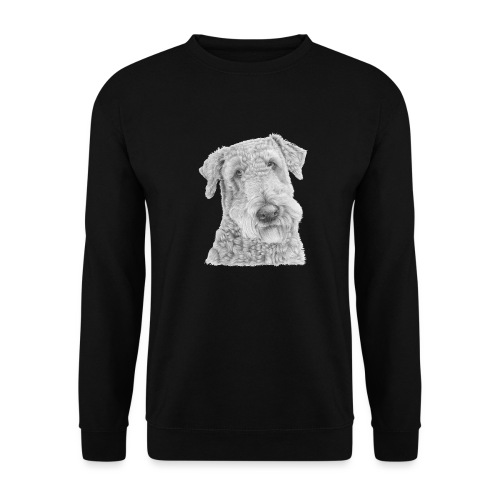 airedale terrier - Herre sweater