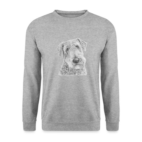 airedale terrier - Unisex sweater
