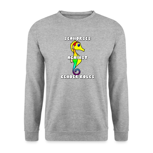 Seahorses against gender roles - Unisex Sweatshirt