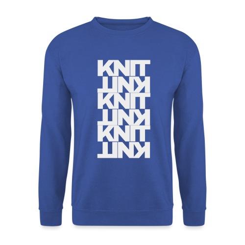 Garter Stitch, light - Unisex Sweatshirt