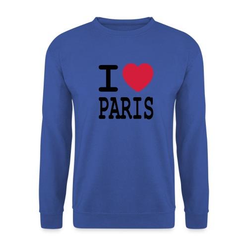 I love Paris - Mannen sweater