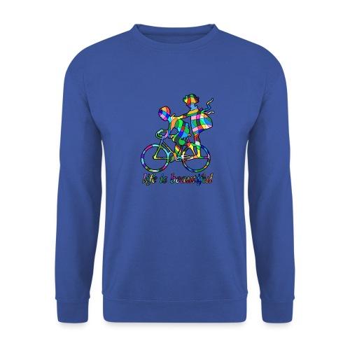 Life is beautiful - Männer Pullover