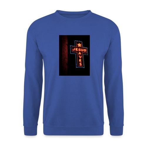 Jesus Saves - Men's Sweatshirt