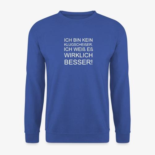 ICH BIN KEIN KLUGSCHEIßER - Männer Pullover