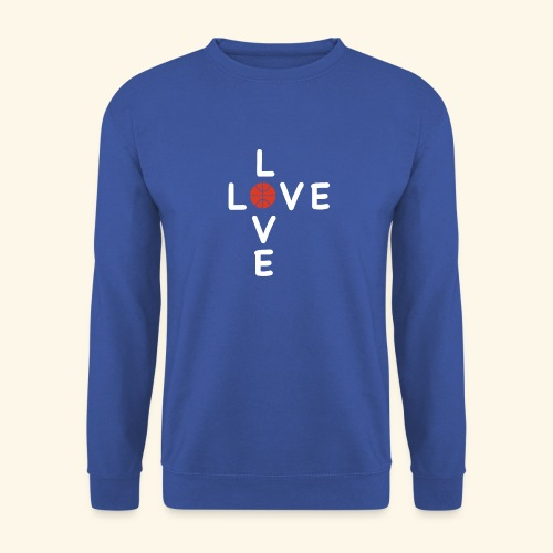 LOVE Cross basketball red 001 - Unisex Pullover
