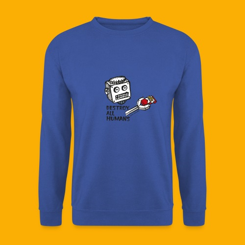 Dat Robot: Destroy Series Smoking Light - Unisex sweater