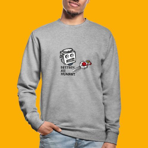 Dat Robot: Destroy Series Smoking Light - Unisex sweater