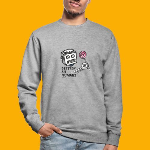 Dat Robot: Destroy Series Candy Light - Unisex sweater