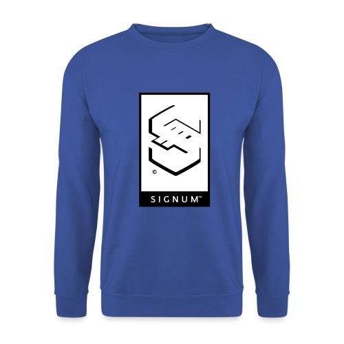 signumGamerLabelBW - Men's Sweatshirt