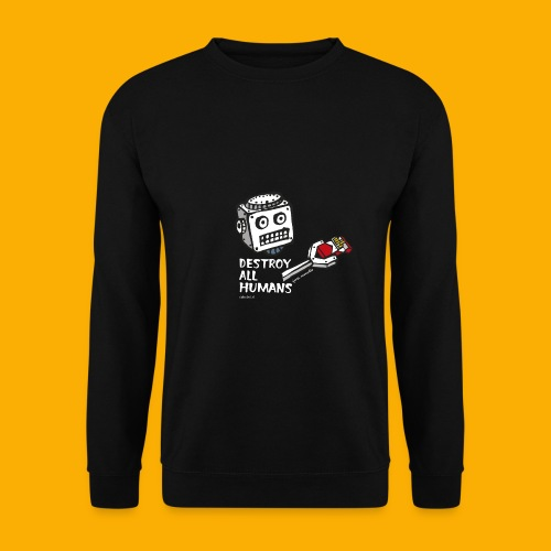 Dat Robot: Destroy Series Smoking Dark - Mannen sweater