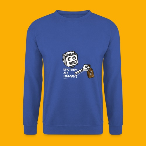 Dat Robot: Destroy Series Booze Light - Mannen sweater