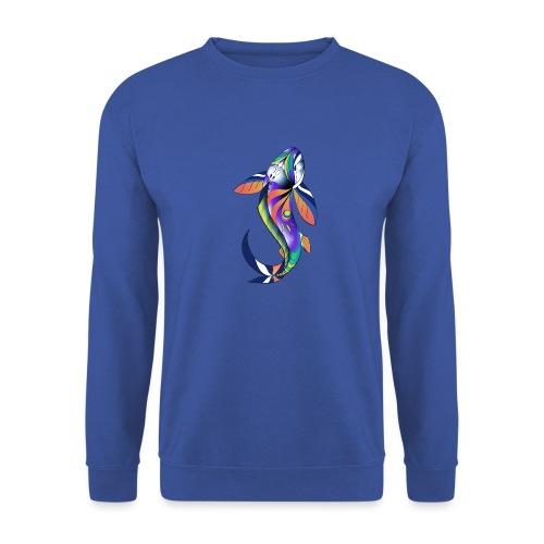 Regenbogen Fisch - Männer Pullover