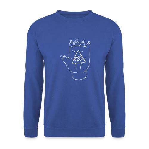 LOGO White - Unisex sweater