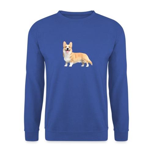 Topi the Corgi - Sideview - Men's Sweatshirt
