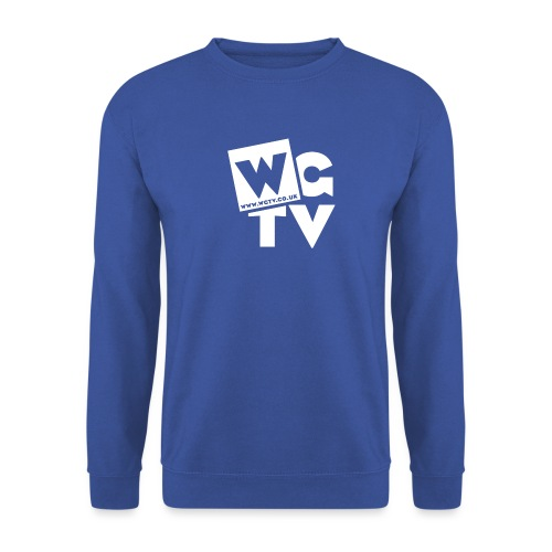 Logo_White_Large - Unisex Sweatshirt