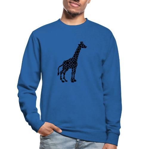 Giraffe (black) - Unisex svetaripaita