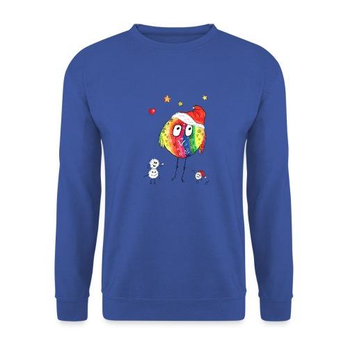 Happy Weihnachtskugelbird - Unisex Pullover
