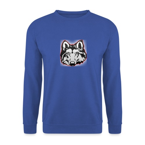 Wolfie (Red) - Men's Sweatshirt