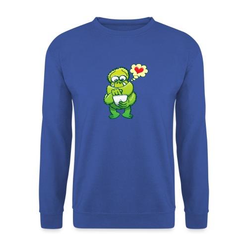Ugly monster seeking love on the Internet - Men's Sweatshirt
