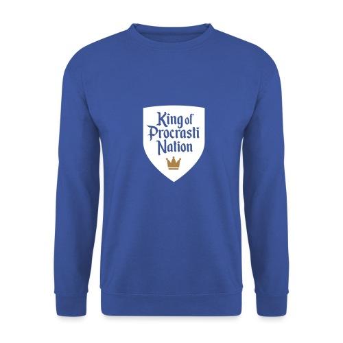 King Of ProcrastiNation - Männer Pullover