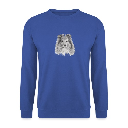 shetland sheepdog sheltie - Herre sweater