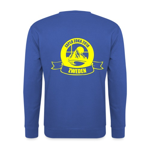 zokalogogeel 2 - Mannen sweater