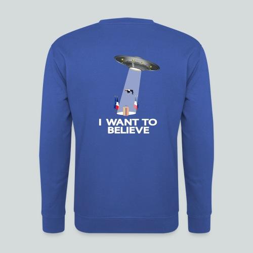 I WANT TO BELIEVE - MACRON - Sweat-shirt Homme