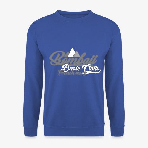 BomBaii french mountain grey - Sweat-shirt Unisexe
