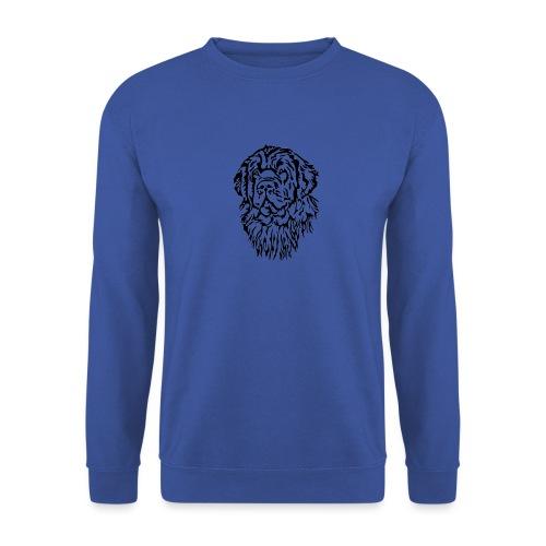 Neufundländer Kopf - Unisex Pullover