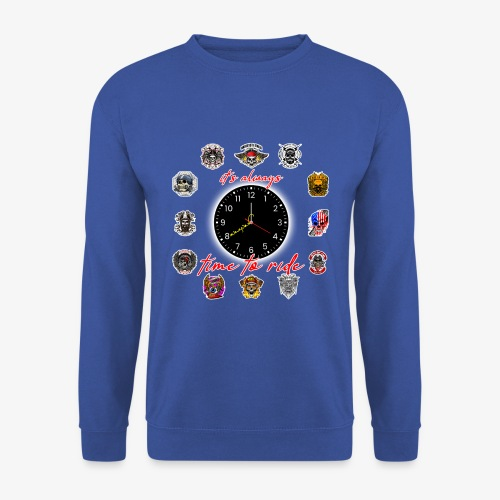 It's always time to ride - Collection - Felpa unisex