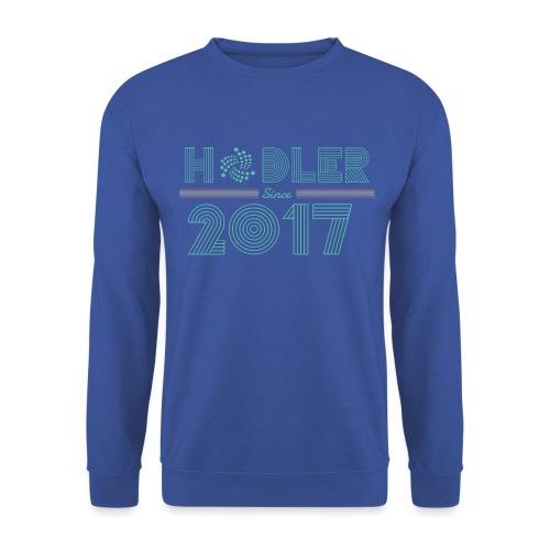 IOTA Hodler since 2017 - Unisex Pullover