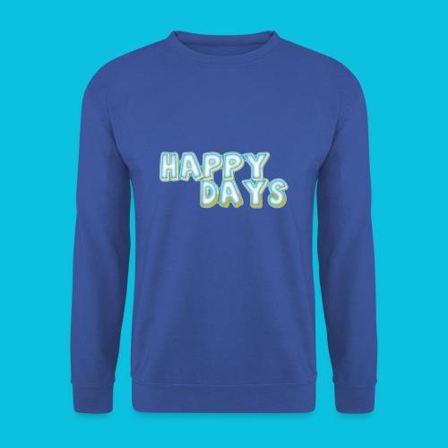 Happy Days png - Unisex Sweatshirt