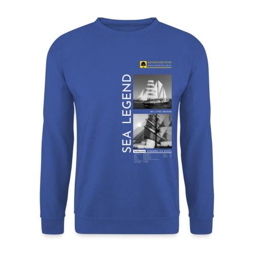 RUNNING ON WAVES. SEA LEGEND - Unisex Sweatshirt