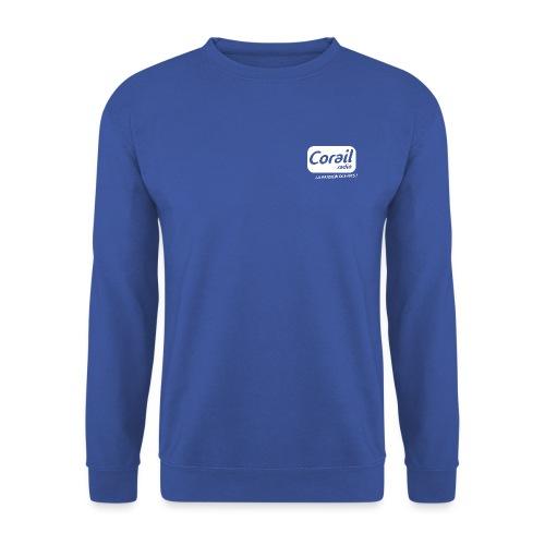 Logo blanc - Sweat-shirt Unisexe