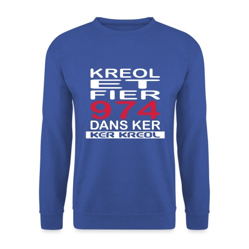 974 ker kreol - Kreole et Fier - Sweat-shirt Unisexe