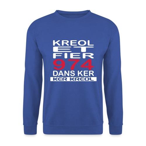 Kreol et Fier - 974 ker kreol - Sweat-shirt Unisexe