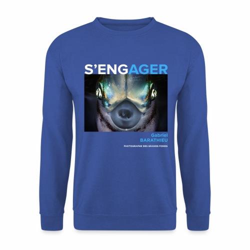 1 Achat = 1 Don à l'association Deep blue explore - Sweat-shirt Unisexe