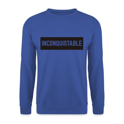 INCONQUISTABLE - Sudadera unisex