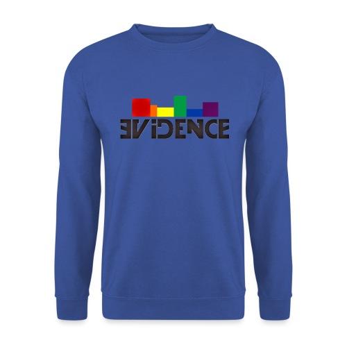 NEW EVIDENCE RAINBOW blk - Sweat-shirt Unisexe