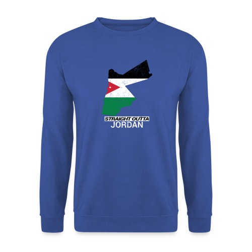 Straight Outta Jordan country map - Unisex Sweatshirt