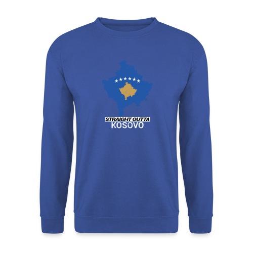 Straight Outta Kosovo country map - Unisex Sweatshirt
