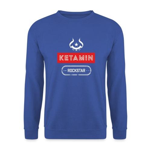 KETAMIN Rock Star - White/Red - Modern - Unisex Sweatshirt