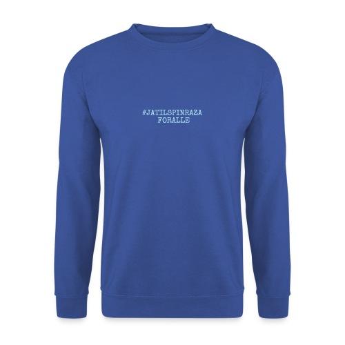 #jatilspinrazaforalle - lysblå - Genser unisex