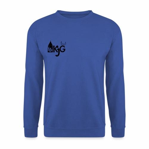 klassisches KjG Pulli Design in schwarz - Unisex Pullover